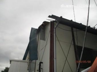 雨漏り工事現場