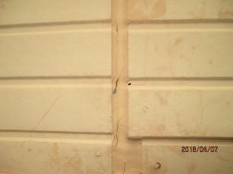 窓際雨漏り工事