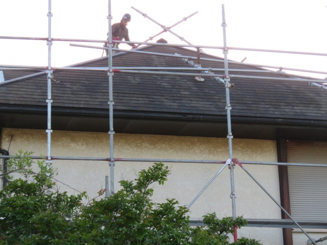 カバー工法屋根葺き替え