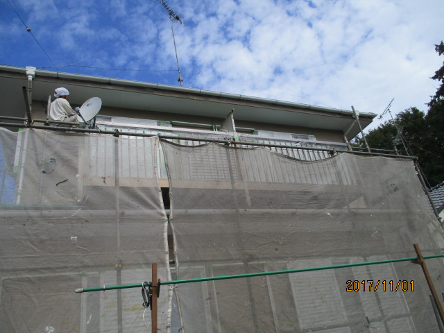 外壁塗装工事4