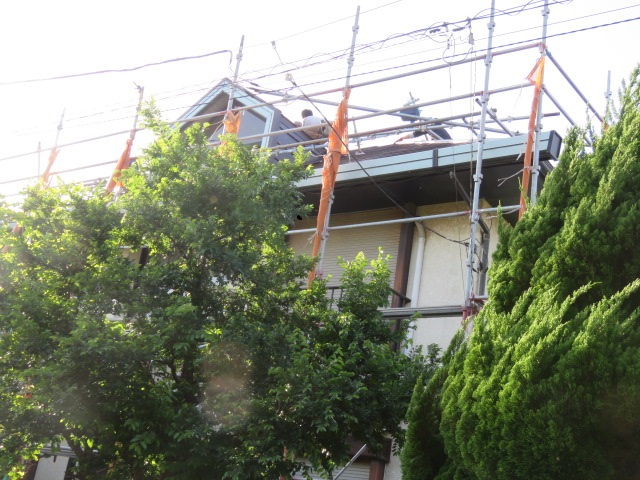 バー工法屋根葺き替え工事