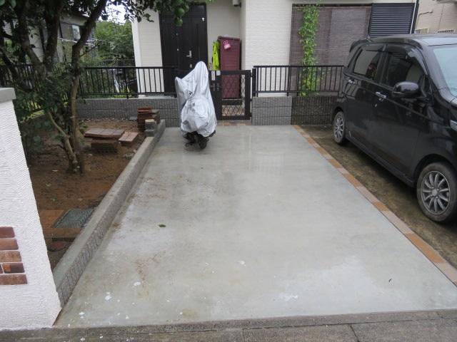 新設駐車場工事12