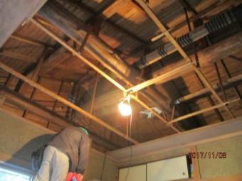 天井張替工事1