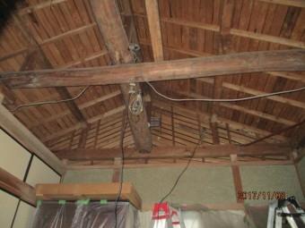 天井張り替え工事2