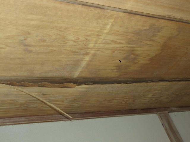 天井被害状況