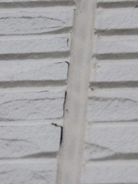 外壁の剥がれ被害