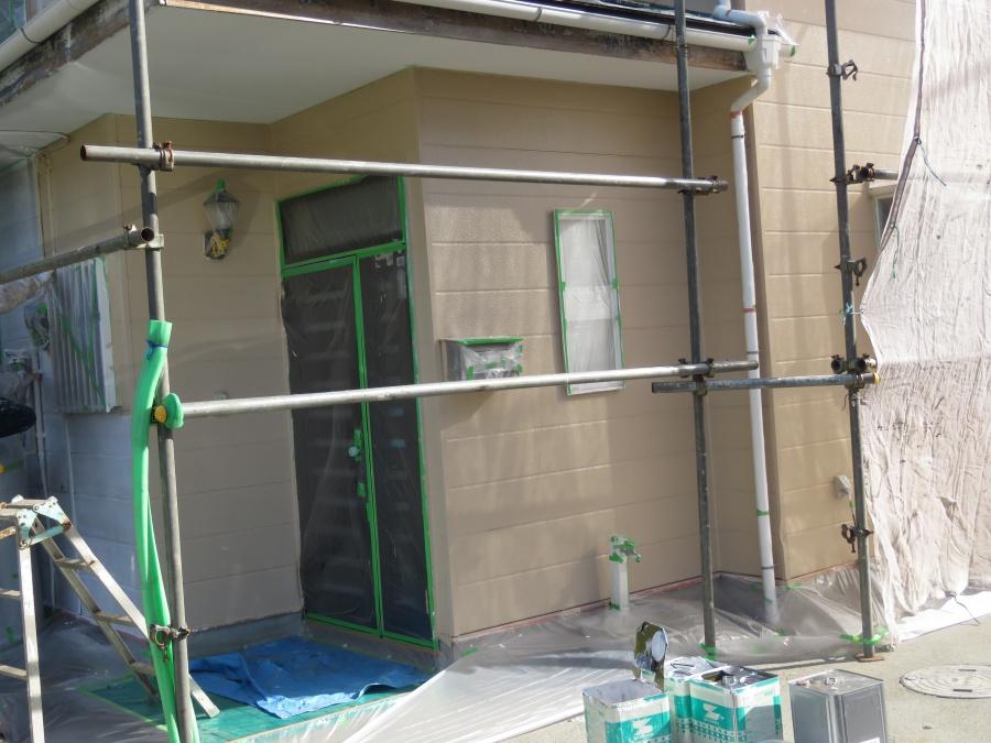 外壁塗装工事5