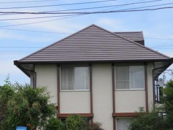 外壁・屋根完工写真