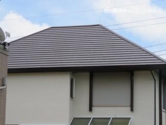 屋根・外壁施工後