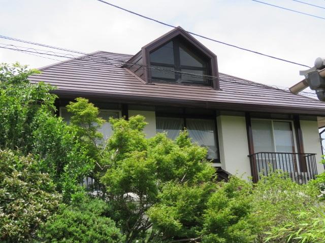屋根完工写真