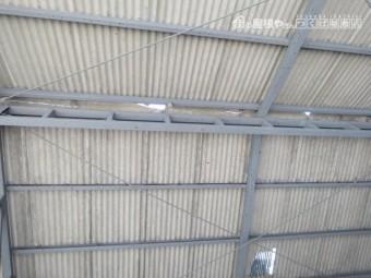 スレート屋根被害4