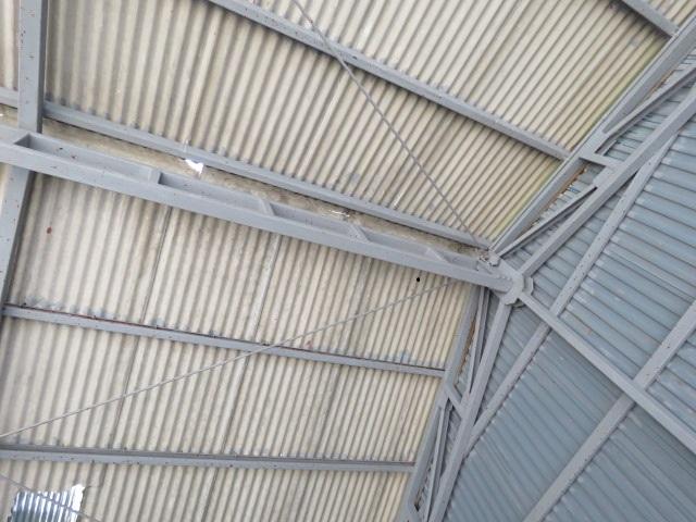 スレート屋根被害6