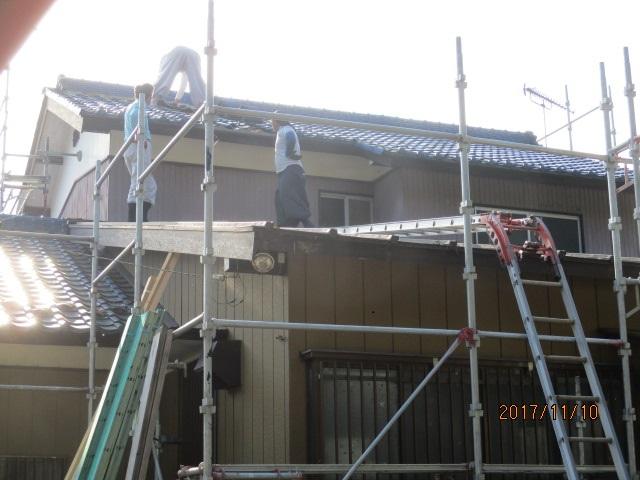 屋根側r撤去