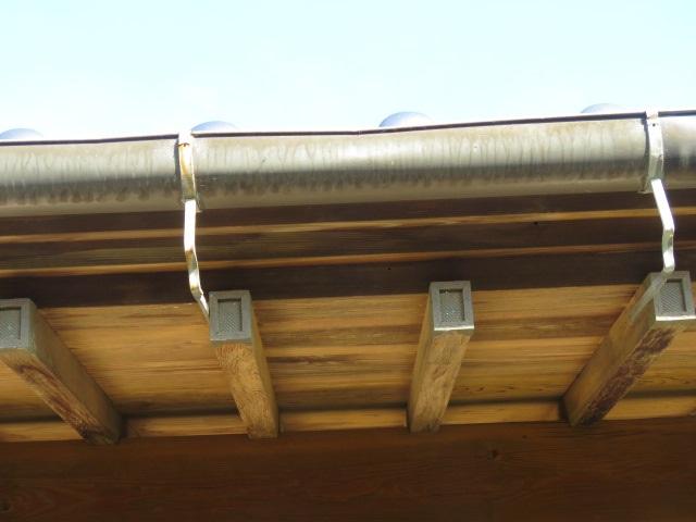 雨樋交換の樋