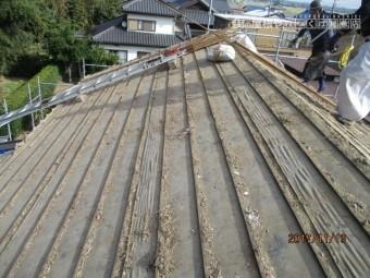 大屋根工事1