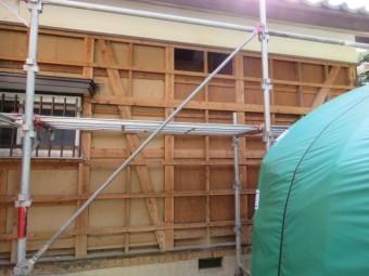 トタン壁交換工事