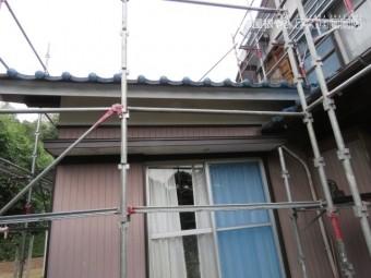 破風塗装工事2