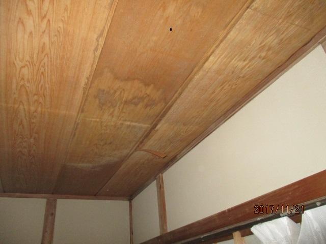 室内天井被害