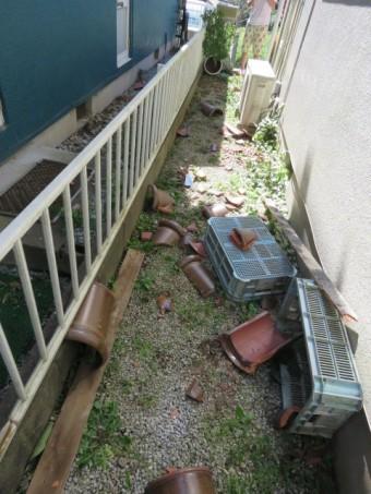 台風24号被害