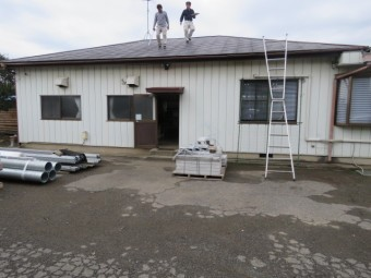 金属屋根工事