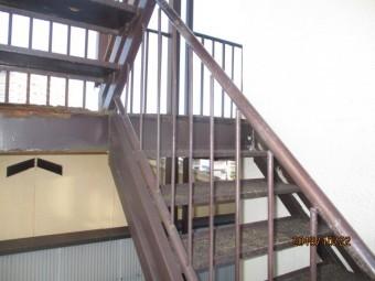 金属階段保有工事