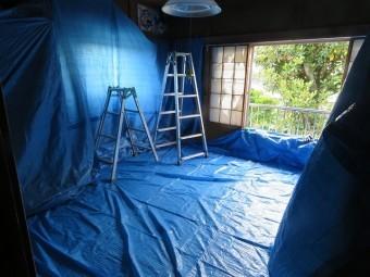 天井の張替工事
