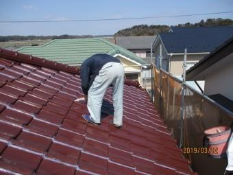 屋根コーキング工事