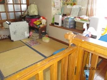 畳の間工事
