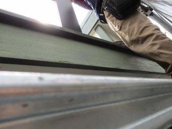 破風板金巻き工事