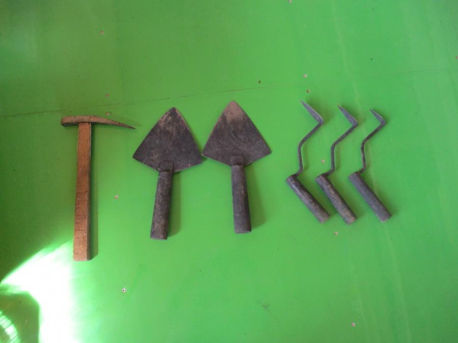 瓦職人道具