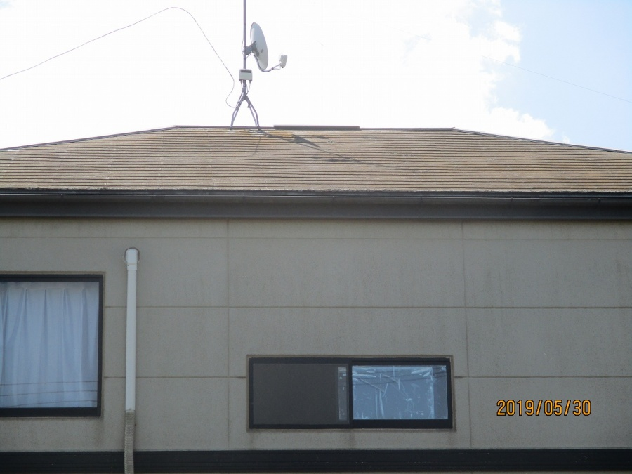 カバー工法による屋根葺き替え