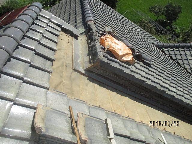 瓦葺き替え工事