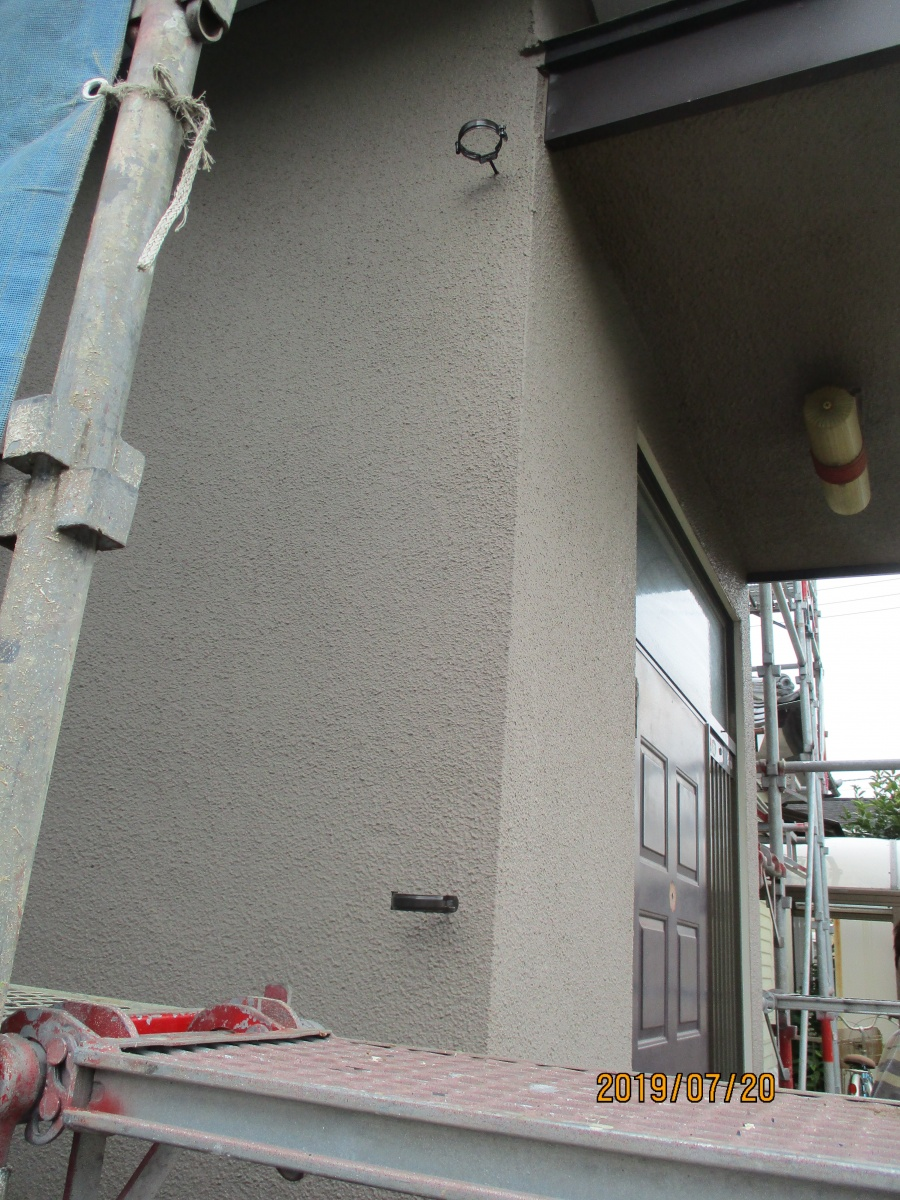 雨樋金具設置