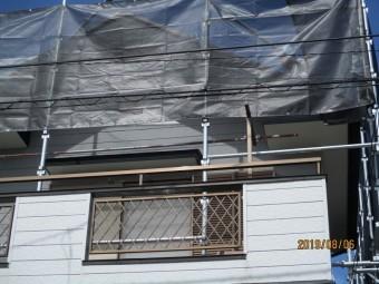 屋根棟板金交換工事