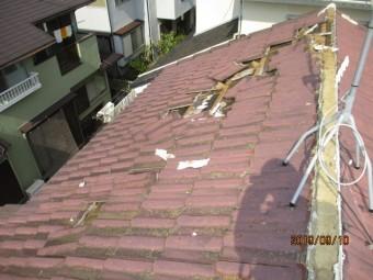 台風15号被害