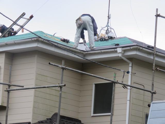 台風被害工事