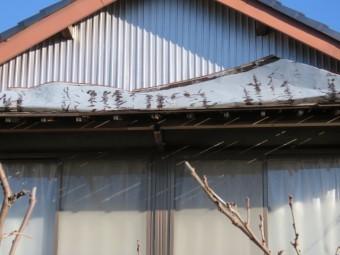トタン被害工事