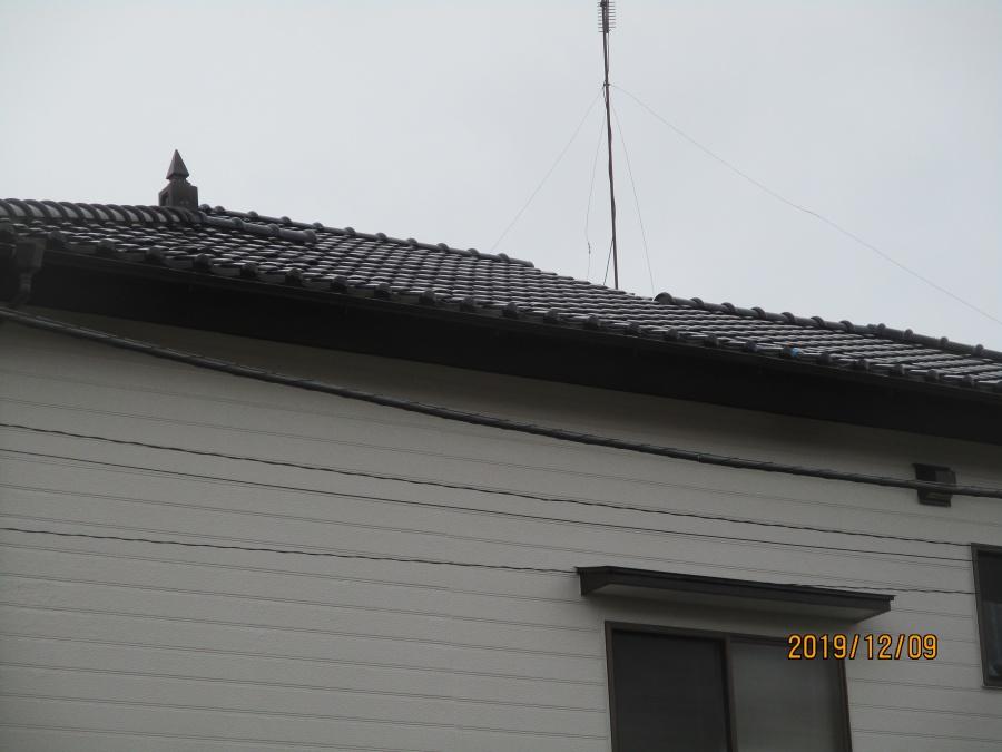 土浦市のH様から台風被害を火災保険で修理して欲しいとの依頼で