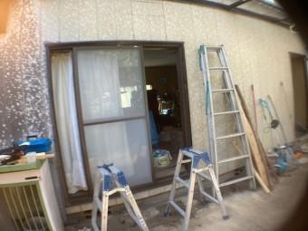 掃き出し窓設置工事