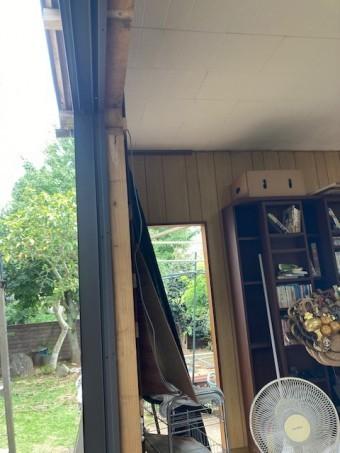掃き出しサッシ窓工事