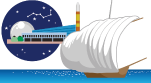 つくば名物 つくばエキスポセンター、観光帆曳船