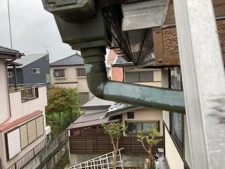竪樋修理工事