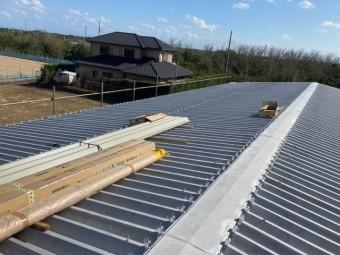 カバー工法屋根葺き替え工事