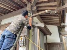 銅製雨樋工事