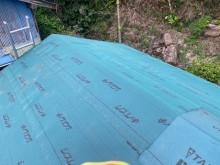 防水シートのルーフィング