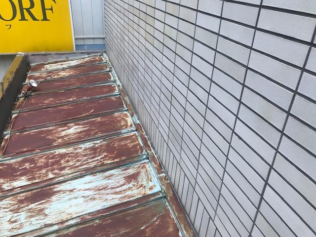 瓦棒塗装工事