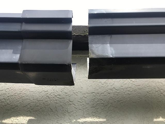 稲敷市のU様から、雨樋・小屋・波板の台風被害の修理依頼です。