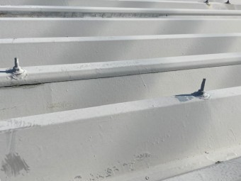 倉庫屋根葺き替え工事