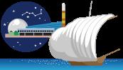 つくば稲敷名物 つくばエキスポセンター、観光帆曳船